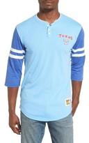 Mitchell & Ness Men's Home Stretch - Texas Rangers Henley