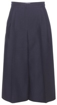Valentino Wool And Silk-blend Culottes