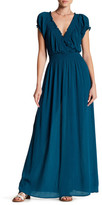 Romeo & Juliet Couture ROMEO &JULIET COUTURE Short Sleeve Gauze Maxi Dress