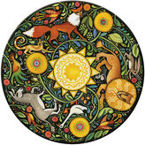 Hadley Table S/4 Aesop's Fables Round Place Mats
