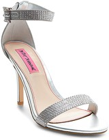 Betsey Johnson Broadway Rhinestone Ankle Strap Stiletto