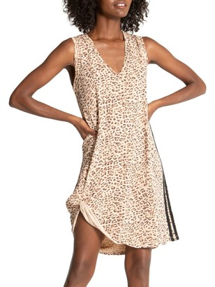 n:philanthropy Alice Leopard T-Shirt Dress