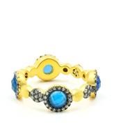 Freida Rothman Women's Baroque Agate Ring