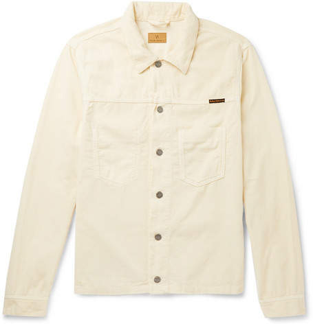 Nudie Jeans Ronny Organic Cotton-Corduroy Trucker Jacket