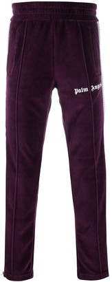 Palm Angels Logo Print Track Trousers