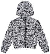 Moschino Logo Print Jacket