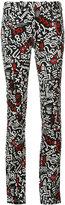 Paco Rabanne printed jeans - women - Cotton/Spandex/Elastane - 36
