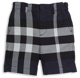 Burberry Baby's & Toddler Boy's Military Check Cotton Chino Shorts