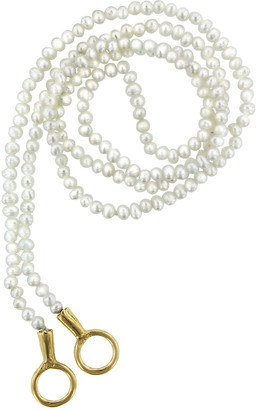 Marla Aaron Itty Bitty Pearl Strand Necklace