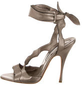 Brian Atwood Tempation Ankle Wrap Sandals