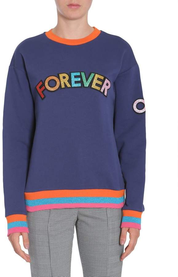 "Mira Mikati Forever Or Never"" Sweatshirt"