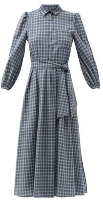 Max Mara Bronzo Dress - Blue White