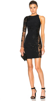Zuhair Murad One Shoulder Mini Dress