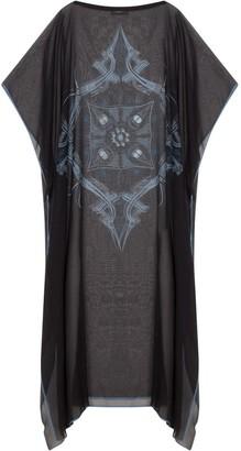 Gisy Vietnam Mandala Black Silk Kaftan No.6