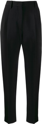 No.21 high-waisted tapered trousers