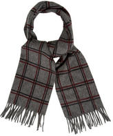 Loro Piana Patterned Fringed Scarf