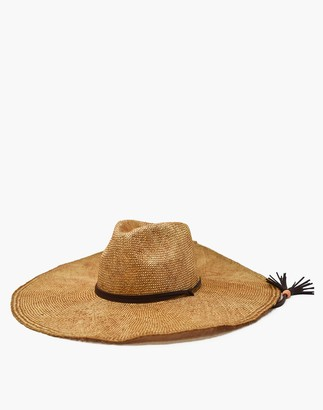 Madewell WYETH Straw Lucia Hat