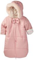Jessica Simpson Faux Fur Hood Puffer Jacket Pram (Baby Girls)
