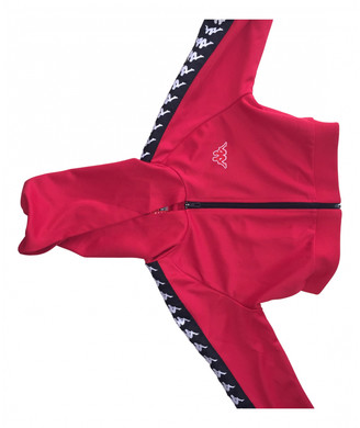 Kappa Red Polyester Jackets