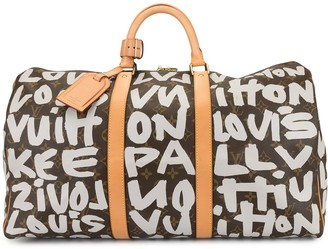 Louis Vuitton pre-owned Keepall 50 weekender bag