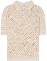 Altuzarra Fontaine Cotton-blend Crochet-knit Blouse