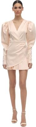 Rotate by Birger Christensen Aiken Satin Mini Dress