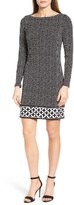 MICHAEL Michael Kors Women's Nezla Border Print Jersey Shift Dress