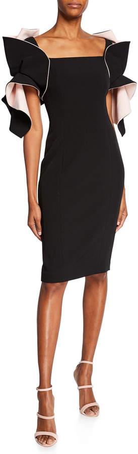 47cd979c Badgley Mischka Black Sheath Dresses - ShopStyle