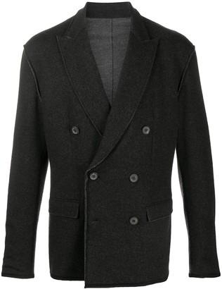 Lanvin Double-Breasted Blazer Jacket