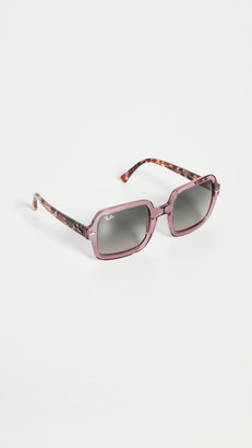 Ray-Ban Highstreet Oversized Square Sunglasses