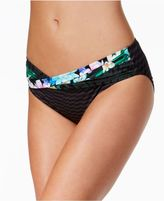 CoCo Reef Tropical Escape Banded Hipster Bikini Bottoms