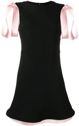 Calvin Klein Bow-Detailed Dress