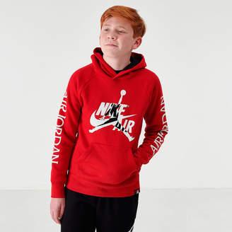 Nike Boys' Big Kids' Jordan Mashup Jumpman Classics Fleece Hoodie