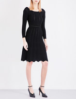 Claudie Pierlot Mary open-knit dress