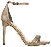 Sam Edelman Ariella Metallic Leather Stiletto Sandals