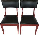 One Kings Lane Vintage Klismos-Style Side Chairs, Pair