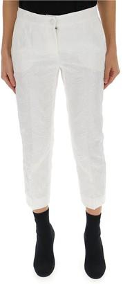 Dolce & Gabbana Jacquard Capri Pants
