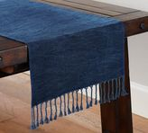Pottery Barn Indigo Knotted Runner