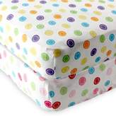 Baby Vision Luvable Friends® Knitted Cotton Geometric Print Fitted Crib Sheet