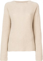 Agnona ribbed sweater - women - Cashmere - S