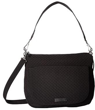 Vera Bradley Carson Shoulder Bag (Classic Black) Shoulder Handbags