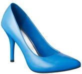 Women's Mossimo® Vivian Pointy Heel - Neon Blue