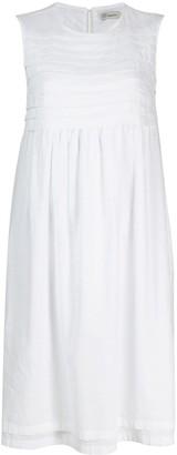 Peserico Striped Panel Dress