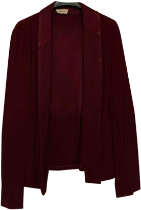 American Vintage Burgundy Viscose Jackets