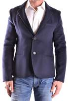 Peuterey Men's Blue Wool Blazer.