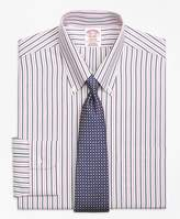 Brooks Brothers Non-Iron Madison Fit Bold Stripe Dress Shirt