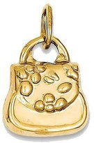 goldia 14k Gold 3-d Purse Charm