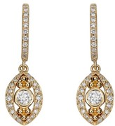 Temple St. Clair Women's Evil Eye Diamond Drop Earrings