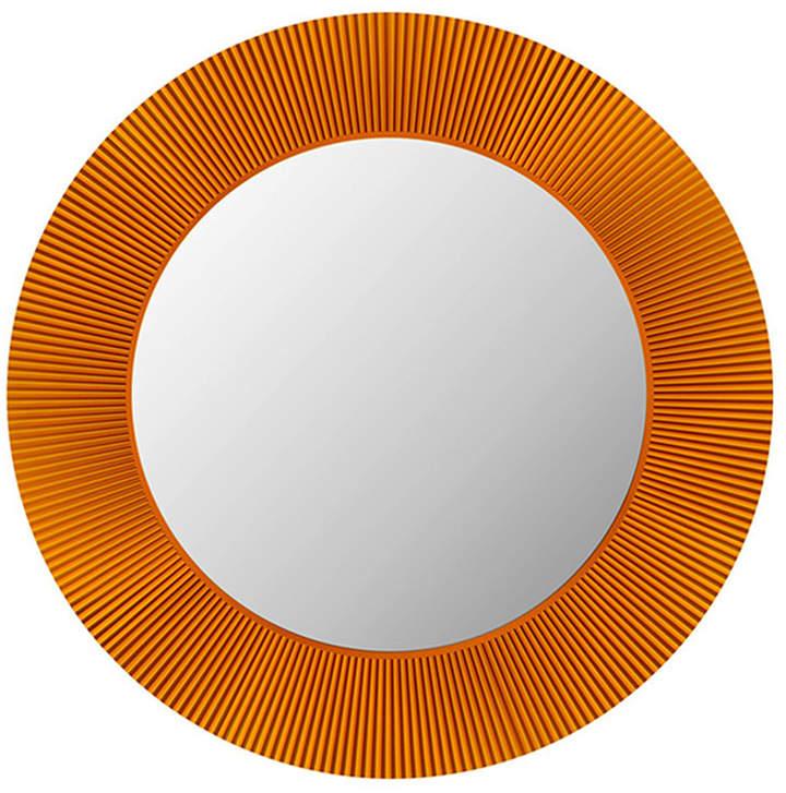 Kartell All Saints Round LED Mirror - Amber