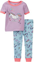 Petit Lem Unicorn 2-Piece PJ Set (Baby Girls)